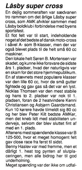 1993-07 Klubblad Låsby onsdag 9.juni img1