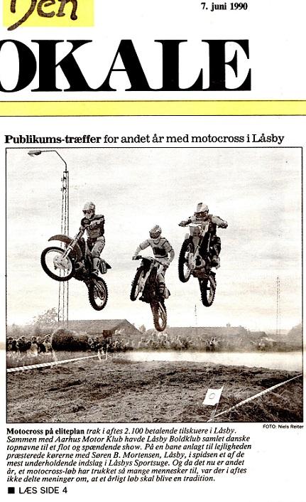 Avisklip Låsby Cross 7.juni 90 img1