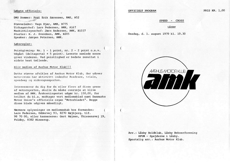 Program Låsby 1979 img1