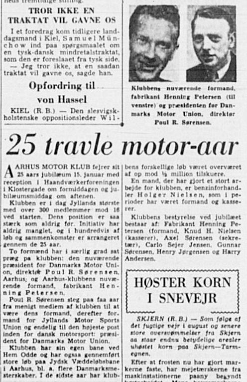 Aarhus Stiftstidende bragte denne artikel i anledning af Jubilæet.