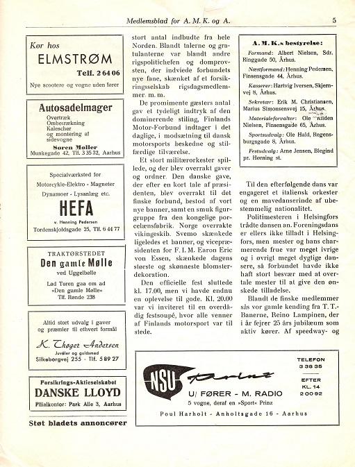 1962-03 Klubblad marts 62