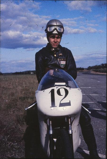 Dan Jeppesen her vandt 50cc klassen på Puch.