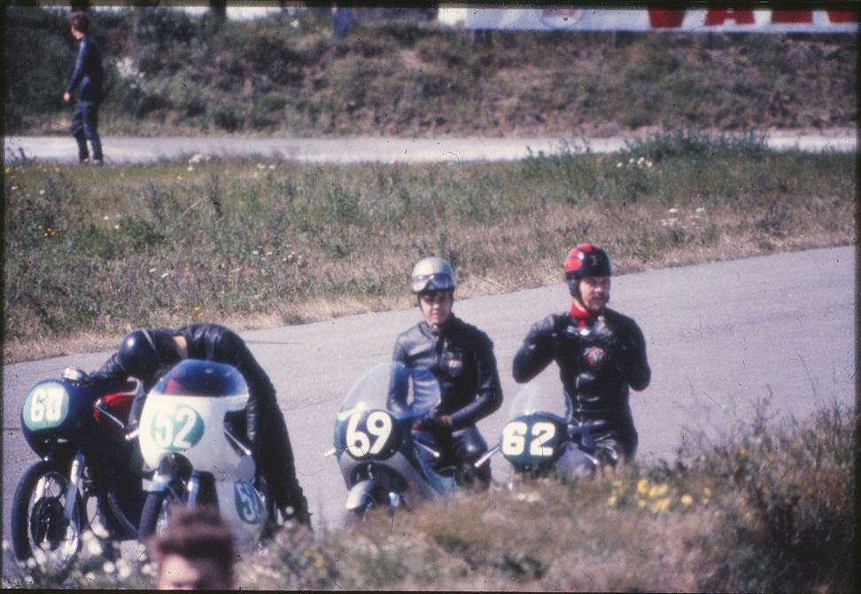 60 Claus Tarum, 52 Ole Møller, 69 Dan Jeppesen og 62 Niels Holm.