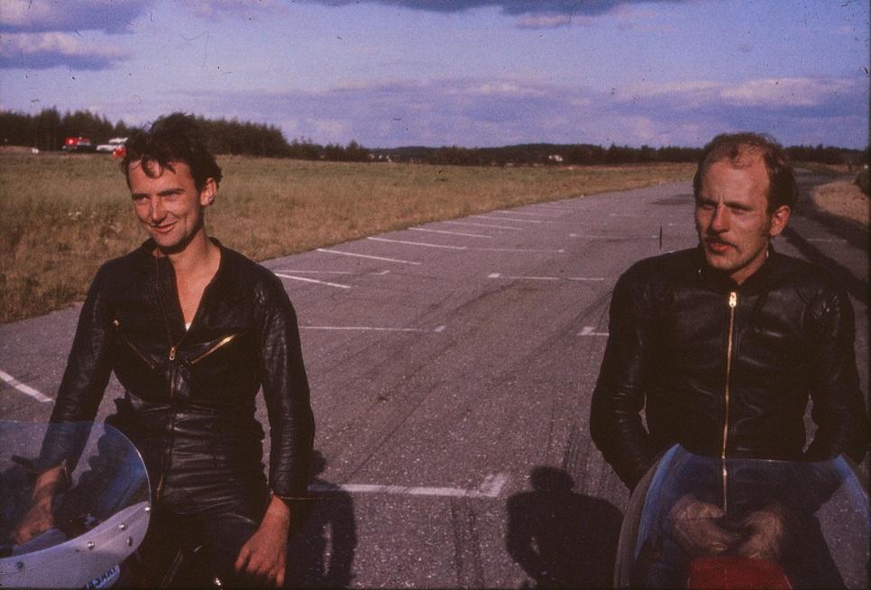 Robert Olsen og Franz, nr. 2 og nr. 1 i DM.