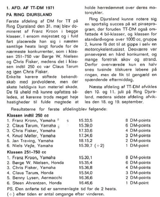 1971-07 DMU Blad  1. afd. DM TT