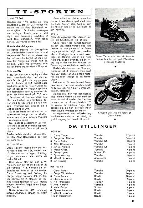 1972-11 MB 3 afd. DM-TT Ring Djurs