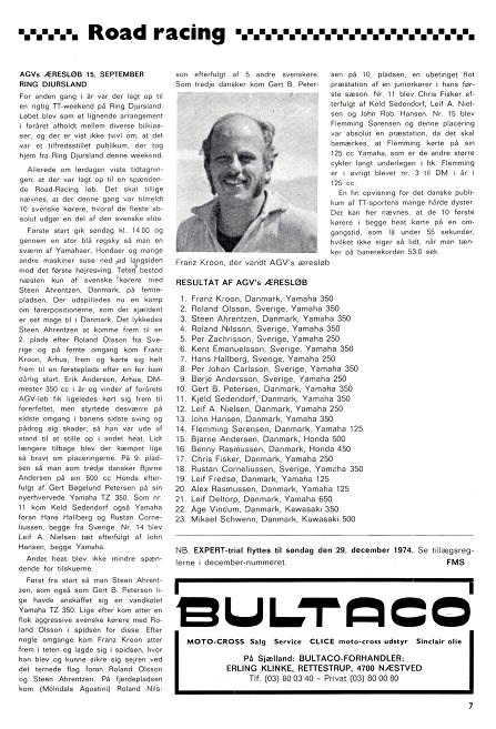 1974-11 MB Franz vandt Ring Djurs