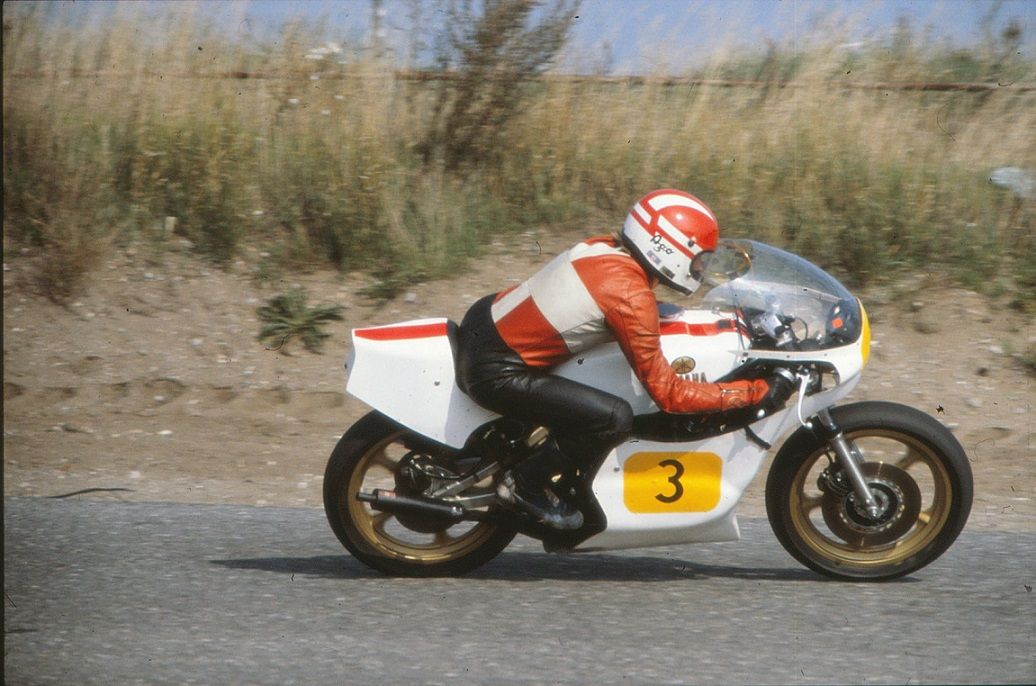 Kierstein kørte også racer i den store klasse