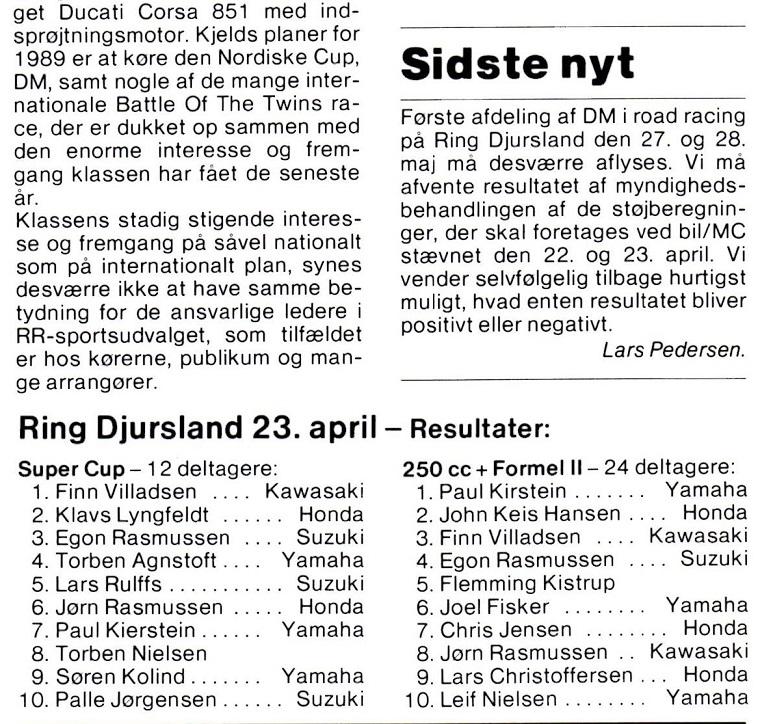 1989-05 MB RD Støjmålerløbet+DM aflyst Finn V+Kirstein