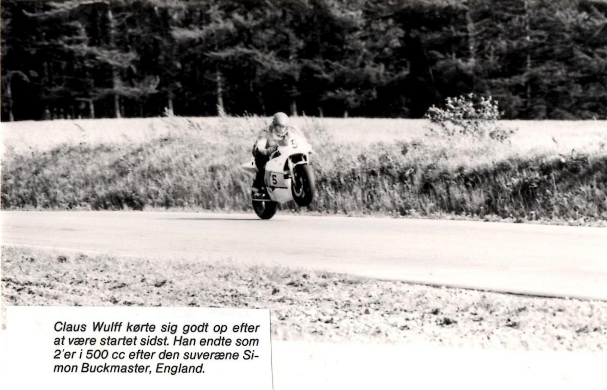 Claus Wulff kørte et strålende løb og blev nr. 2, selvom han startede sidst.