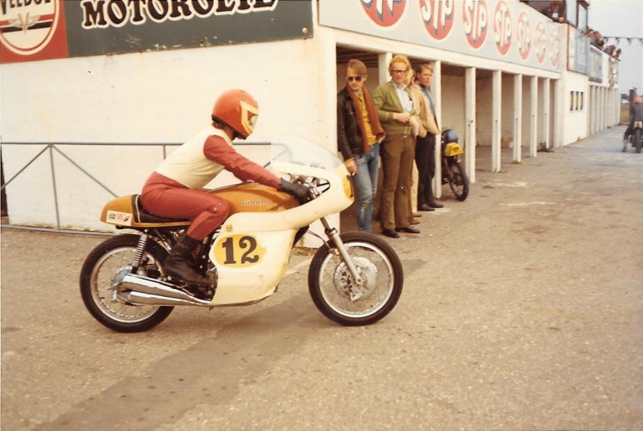 Keld Sedendorff på Honda 500cc.