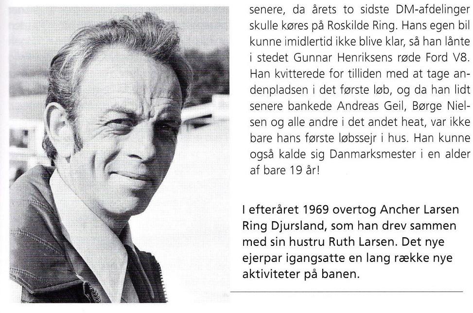 En profil af Ancher Larsen fra Morten Alstrups bog.