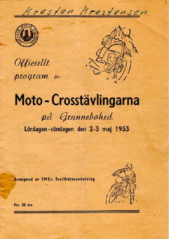 Programforside 1953