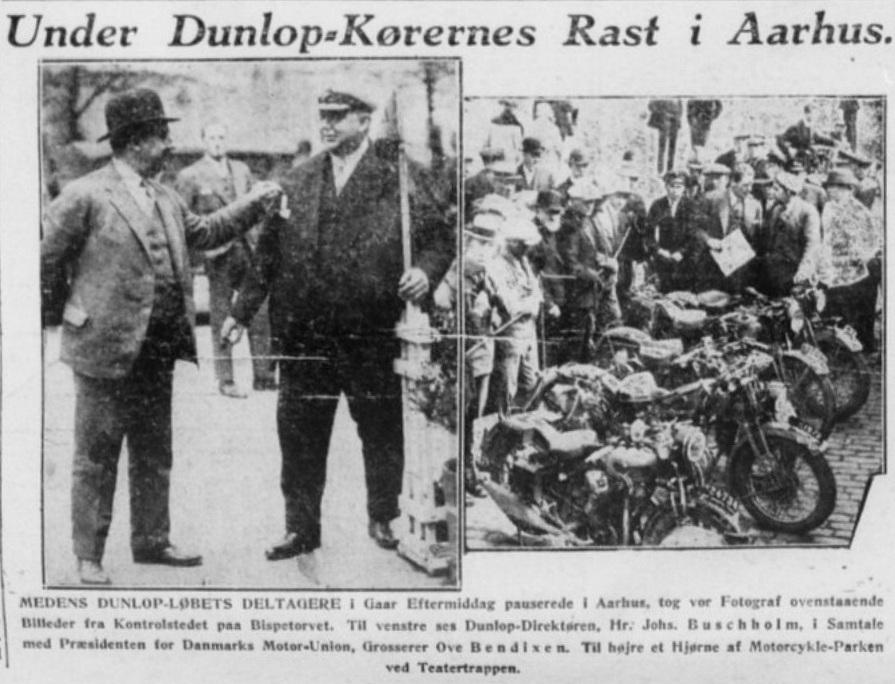 Reportage i Stiften fra det igangværende Dunlopløb img3.