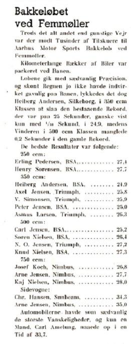 En ny sejr på Femmøller bakken i aug. 39.