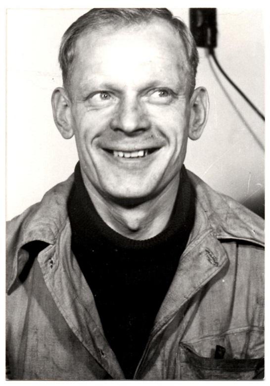 Et portrætfoto af Erling taget omkring 1948.