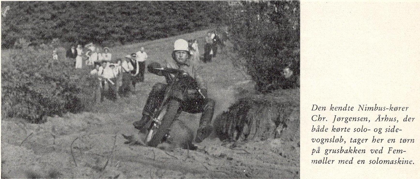 Den Blå Bog bragte dette billede, der sandsynligvis er fra JMU løbet 1937