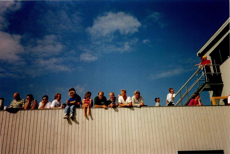 Publikum på vingen