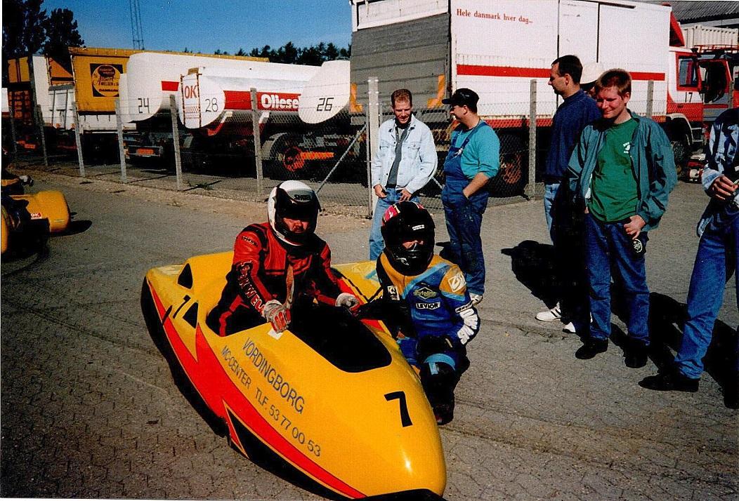 Ulrik Hasager var også med i sidevognen hos Torben Hansen img1