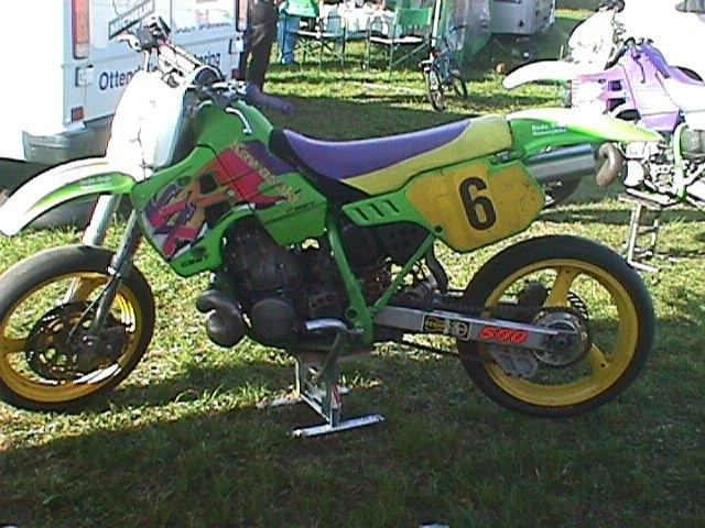 Super Single cykel. Nr. 6 Ulrik Jakobsen, HeMS