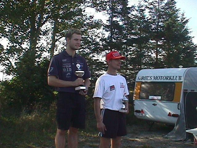 Sonni Harms vandt 250cc racer. Michael Selmar th blev nr. 3.