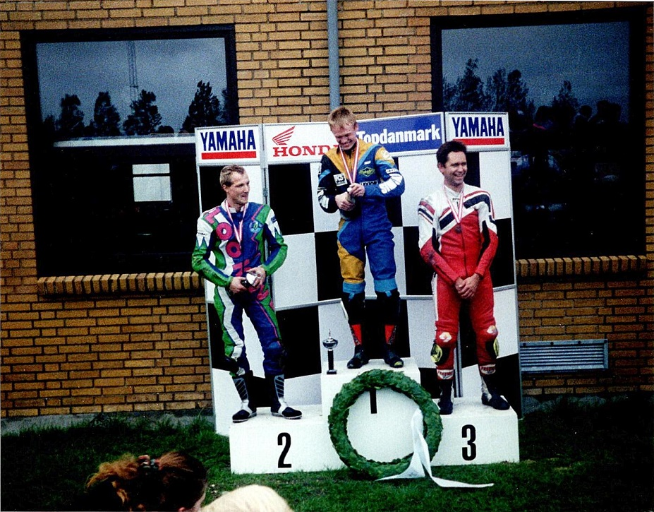 Men i DM blev det sådan. De tre første i DM Chris-Ulrik og svenskeren Johnny Josefson