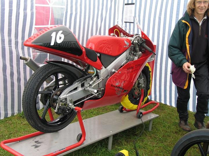 Henrik Nielsen 125cc Racer. Mogens Johansen th