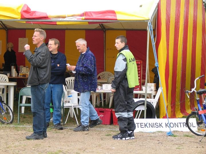 TK Fra venstre Morten Hvolby, Bent Jensen og Krause