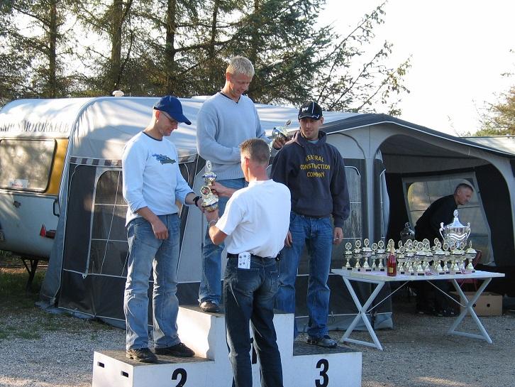 Tom Eggers vandt Rookie II foran Dennis Andersen tv og Thomas Hansson