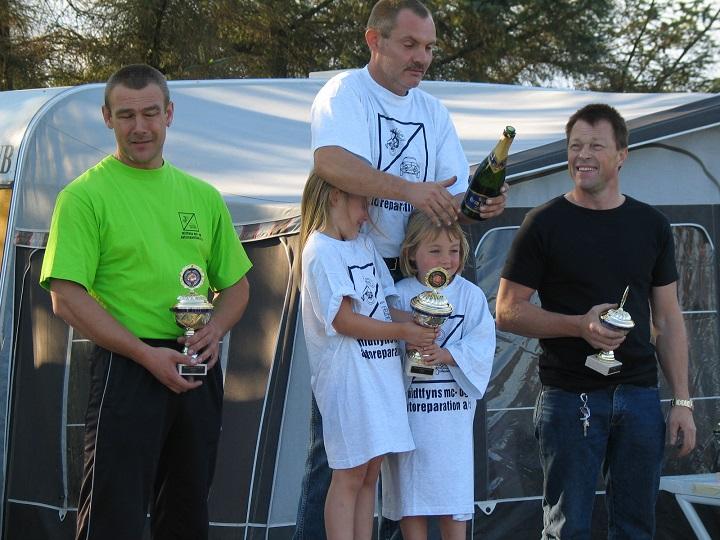 Knud Erik Madsen vandt Rookie I foran Claus Christensen tv og Alex Lauridsen