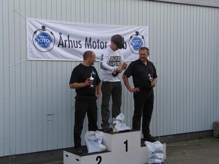 Superbike. Brian Glad vandt foran Ole Madsen og Lars Pedersen