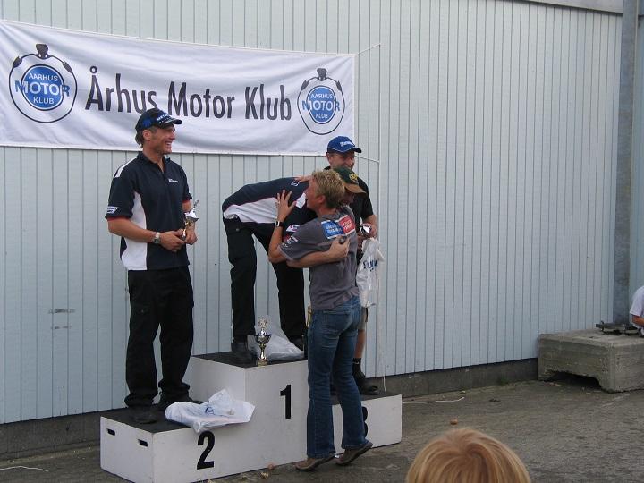 SS 600. Kim Phillip vandt og fik et kram af Anne Mette. Thomas Hardinger 2, Jan Jespersen 3.