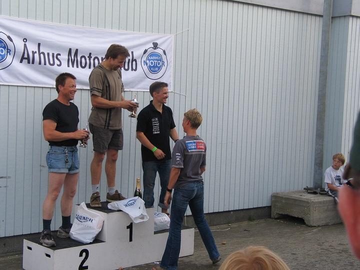 Rookie I. Per Jacobsen vandt foran Alex Lauridsen og Anders Heine.