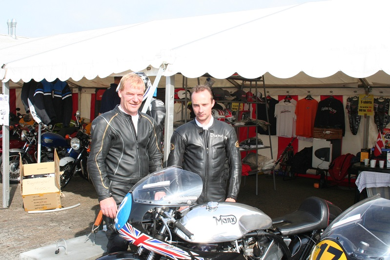 Nortonparret Vagn Jensen og Duncan Fitchett