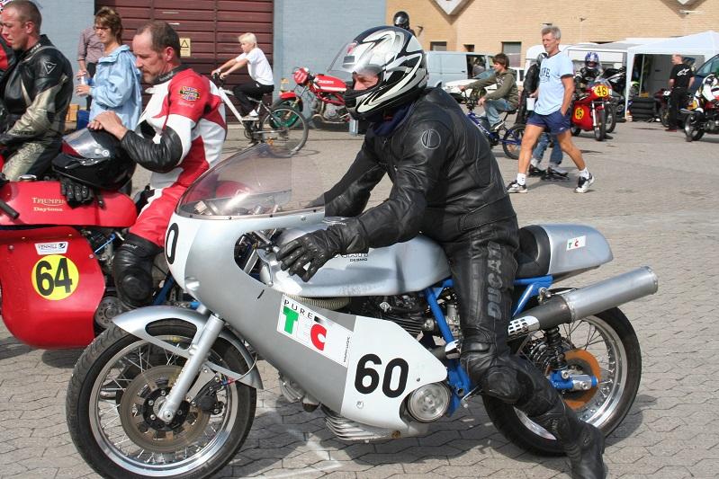 Peder Spile på Ducati