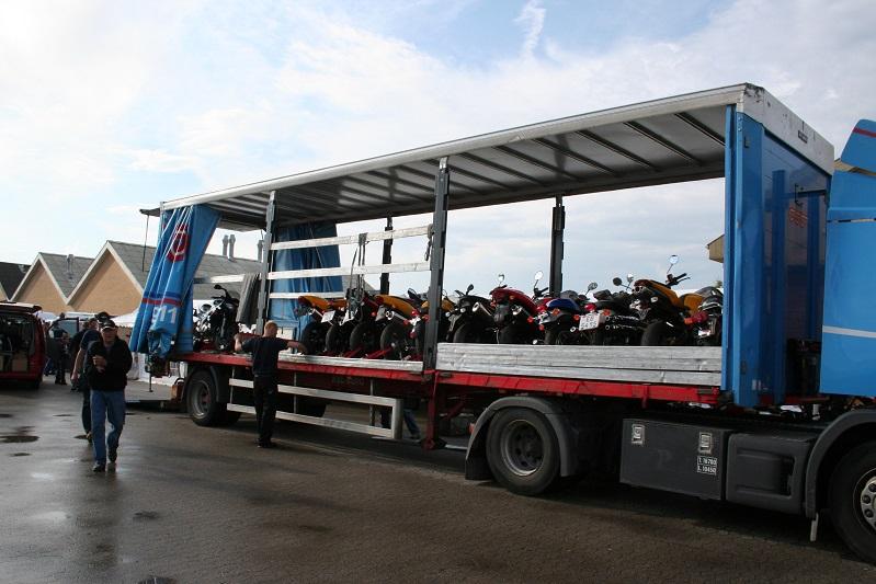 En ordentlig transporter med en dyr last