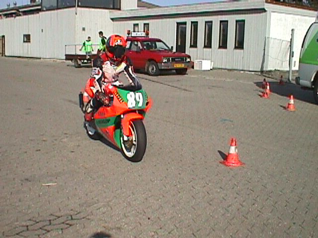 Michael Selmar 250cc Racer.