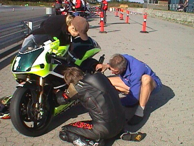 Jan jespersen 250cc Racer.
