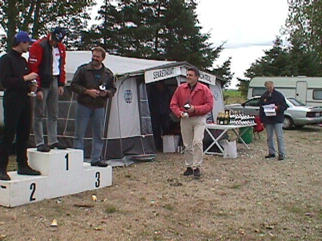 Kim Philip vandt Free for all foran Lars Rulffs og Lars Kim Jensen.
