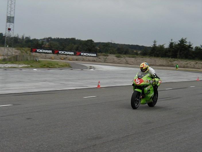 Bo Damkjær Rookie II på Triumph