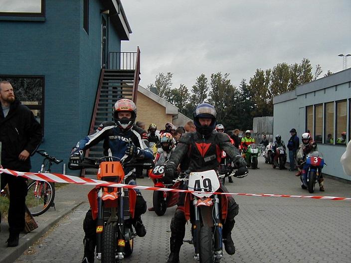Kim Philip 11 og Morten B. Hansen i Super Motard