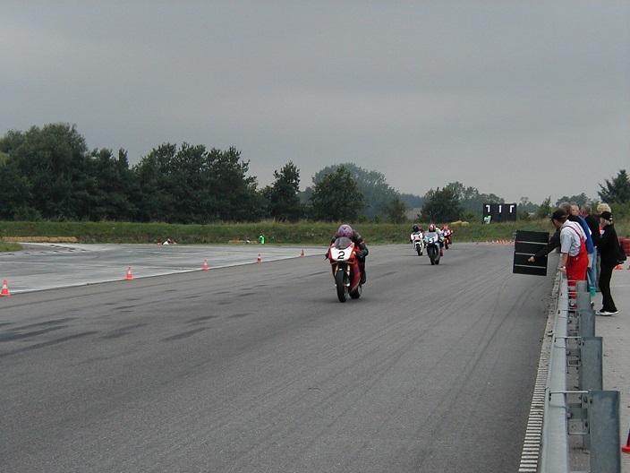 Brian Glad på Ducati Rookie II