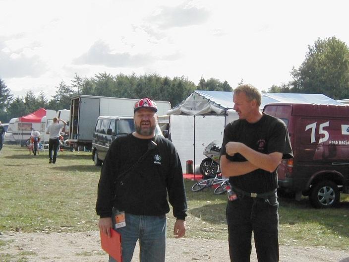 Kaj Lehmann og Jens får sig en snak