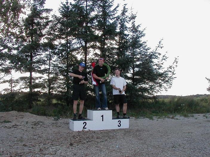 DM 250cc. Kenni Aggerholm vandt foran Jørgen Vendelbo og Martin Johannesen.