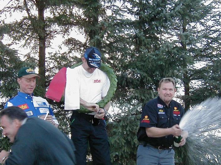 DM Superbike. Kim Philip vandt foran Morten B. Hansen og Rene Prang