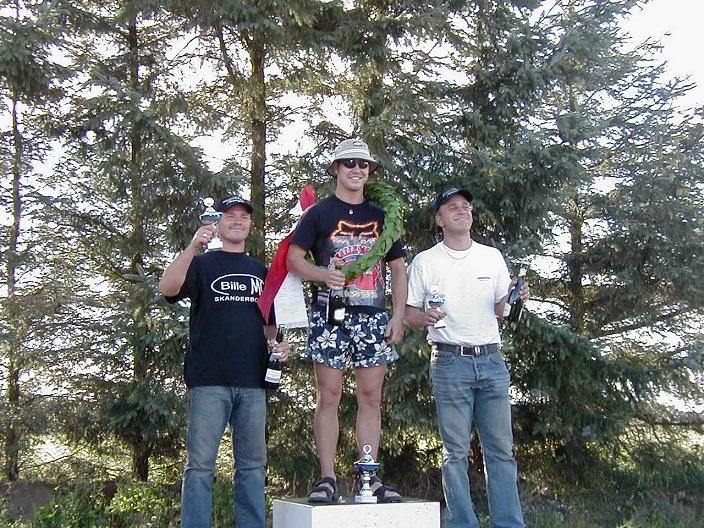 DMU Cup Rookie II. Brian Glad vandt foran Mads Caprani tv og Henrik Blom.