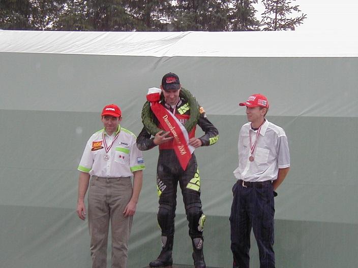 Søren Hole vandt DM SS600 foran Karsten Rasmussen og Henrik Larsen
