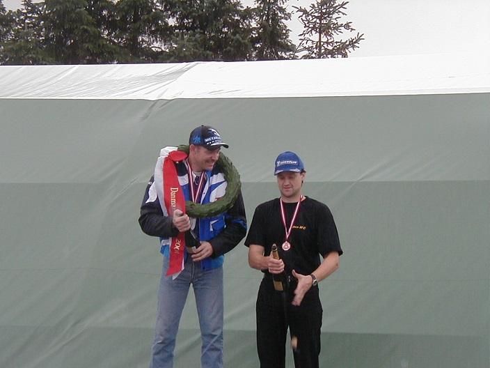 Kim Philip vandt DM Superbike, Lars Rulffs nr. 3