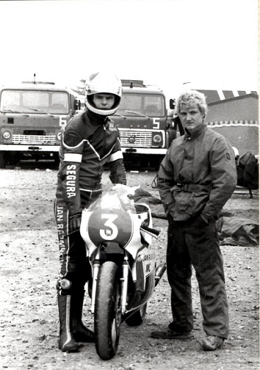 Stadig Ring Djursland 1982. Svend og Chris