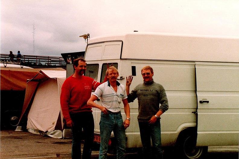 Tommy, Frede A. Jensen og Tonni